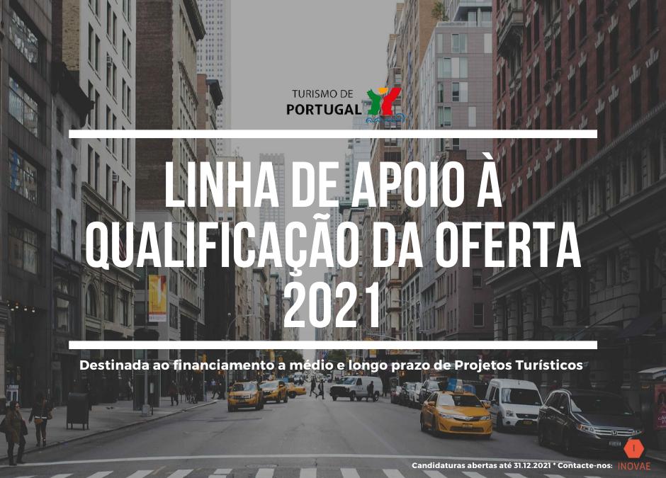 Linha de apoio à qualificação da oferta 2021